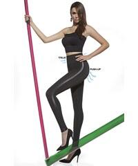 Basbleu Mid-Stahovací legíny Angelica s Push-Up efektem černá 4