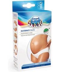Malewo Kalhotky těhotenské nízké bílá L