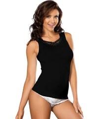 Babell Spodní košilka Wiki bavlněná černá XL