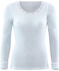 Blackspade Dámské funkční triko s dlouhým rukávem bílá XL