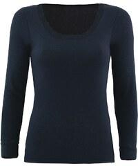 Blackspade Dámské funkční triko s dlouhým rukávem černá S