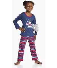 Cornette Dívčí pyžamko Billow modrá 86