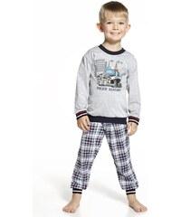 Cornette Chlapecké pyžamko Policie melange 86