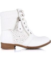 Kotníkové jarní boty SL67510WH