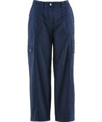 bpc bonprix collection Pantalon 7/8 effet paper touch, ample bleu femme - bonprix
