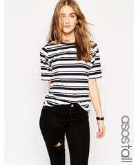 ASOS TALL - The Easy - T-shirt à rayures - Multi