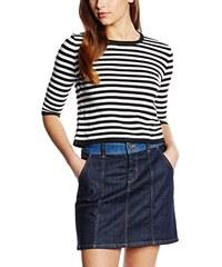 New Look Damen Top Stripe Knitted Crop
