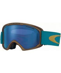 Oakley O2 Xl Schneebrillen Goggle copper aurora blue/black ice