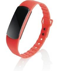 XD Design Loooqs, fitness náramek Be Fit, červená