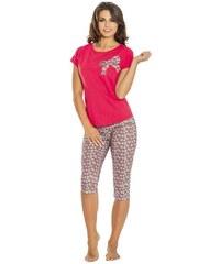 Dámské pyžamo Luna 688-1, korálová