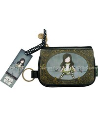 Santoro - Gorjuss Keyring Zip Purse - On Top of the World 340GJ02