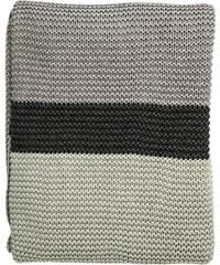 Bloomingville Pletený přehoz Mint/Grey/Dark Grey