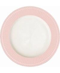 Green Gate Obědový talíř Alice pale pink 26 cm