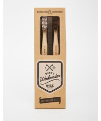 Gentlemen's Hardware - Brosses à dents en bambou - Multi