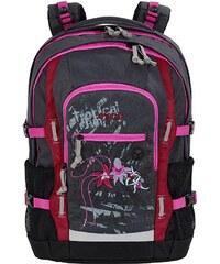 4YOU Schulrucksack mit Laptop- und Tabletfach, Tropical Jungle, »Jump«