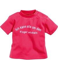 Schnizler Unisex Baby T-Shirt Mit Spruch: Ich Kann Alle Um Den Finger Wickeln, Oeko-tex Standard 100