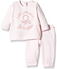 United Colors of Benetton Baby - Mädchen, Bekleidungsset, 3U67MM18S