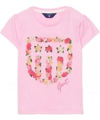 GANT T-shirt à Manches Courtes Avec écusson Pour Fille -