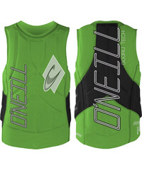 O'Neill Gooru Tech Comp Vest protection dayglo / blk