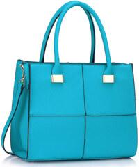L&S Fashion (Anglie) Kabelka LS00153 modrá