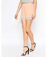 Y.A.S - Sigma - Shorts mit Spitze - Rosa