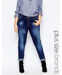 Praslin - Plus - Enge Jeans - Blau