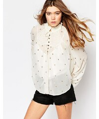 Free People - Ready To Run - Blouse - Beige