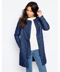 Vero Moda - Veste matelassée en jean - Bleu