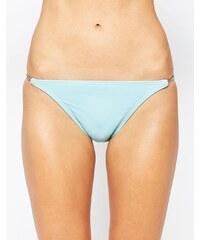 Vince Camuto - Bikinihose mit Kettendesign - Blau