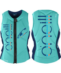O'Neill Slasher Comp Vest W protection seaglass/nvy