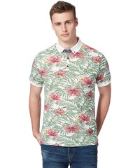 DASH Zelinkavé tričko se vzorem květin
