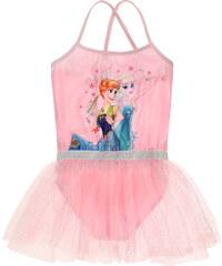 Disney Die Eiskönigin Ballettanzug rosa in Größe 98 für Mädchen aus 88% Polyester 12% Elastan 100% Polyester