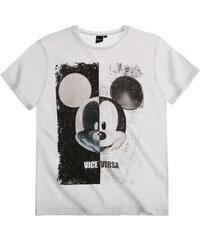 Disney Mickey T-Shirt weiß in Größe S für Herren aus 100% Baumwolle