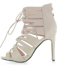 Sergio Todzi Béžové sandály Miura