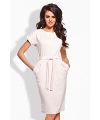 Lemoniade Světle růžové šaty L129