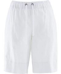 bpc bonprix collection Bermuda confort lin blanc femme - bonprix