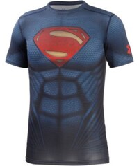Under Armour HeatGear alter Ego Superman Kompressionsshirt Herren