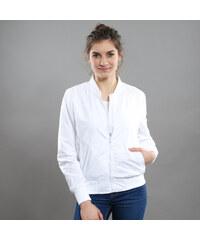 Urban Classics Ladies Light Bomber Jacket bílá