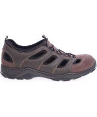 Rieker pánské sandály 08065-26 hnědé
