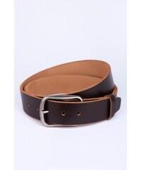 SAM 73 Pánský kožený pásek ACMS16_03 brown - hnědá
