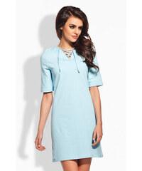 Lemoniade Světle modré šaty L120