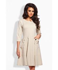Lemoniade Béžové šaty L125
