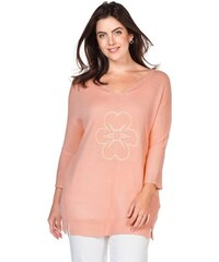 SHEEGO CASUAL Damen Casual Pullover rosa 40/42,44/46,48/50,52/54,56/58