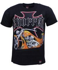 BLACK HAVEN BLACK HEAVEN tričko pánské CHOPPER oboustranný potisk