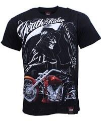 BLACK HAVEN BLACK HEAVEN tričko pánské DEATH RIDER oboustranný potisk