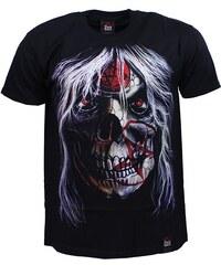BLACK HEAVEN tričko pánské oboustranný potisk