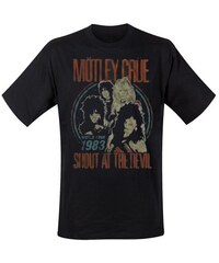 Motley Crue Herren, T-Shirt, Vintage World Tour