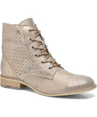 Mustang shoes - Pixir - Stiefeletten & Boots für Damen / gold/bronze