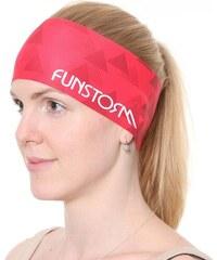 Sportovní čelenka Funstorm Arrow 25 pink ONE SIZE