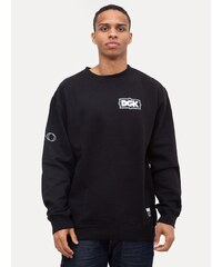 DGK XO Crew Fleece Black